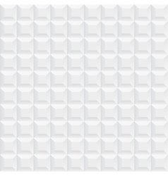 White ceramic cubes texture - seamless vector