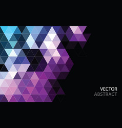 Abstract polygonal mosaic background low poly vector