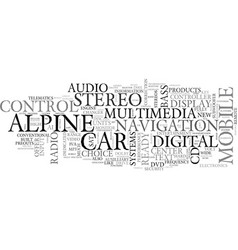 Alpine adventure tours text word cloud concept vector
