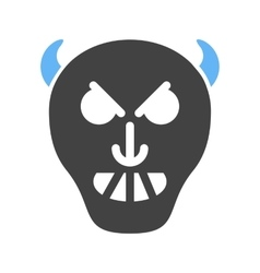 Evil horror vector