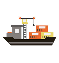 industry related icon image vector image