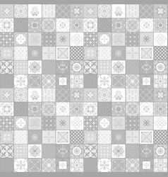 light grey colors ceramic tiles vector image vector image