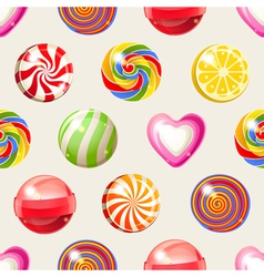 candy seamless vector image