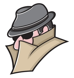 Spy icon3 vector image