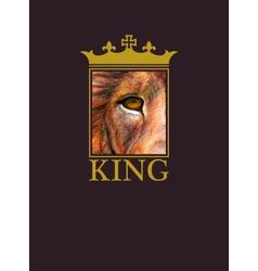 Lion background eps8 vector