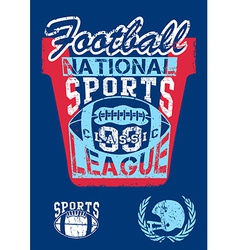 National football sports league vector