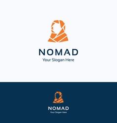 Nomad bedouin logo vector
