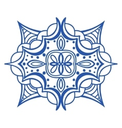 Seamless blue pattern vector