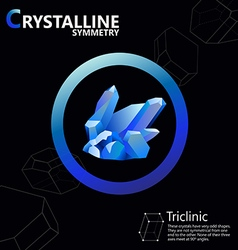 Triclinic 01 vector