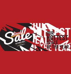 Final sale 6250x2500 pixel banner vintage style vector