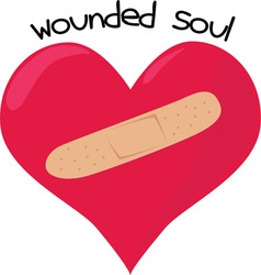 Wounded soul vector