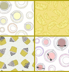 Dessert50 vector image