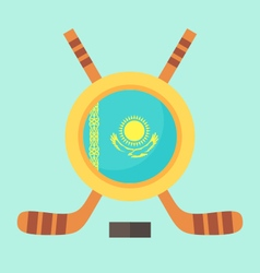 Hockey in kazakhstan vector