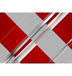 Minimal tech metallic corporate background vector