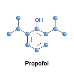 Propofol decrease consciousness vector