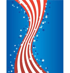 patriotic american july vector vector image