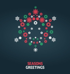 Christmas card graphic vector