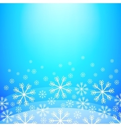 Abstract Christmas background  Elegant winter vector image