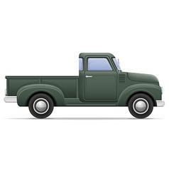 Car pickup 01 vector