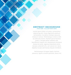 Clean square shape template vector