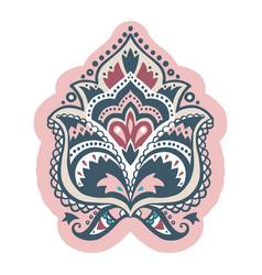 ethnic decorative design element vector image
