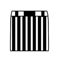 Female clothes fashion icon vector