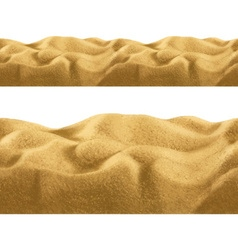 Sand seamless vector image vector image