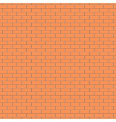 Brick wall pattern background vector