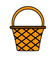 Basket icon image vector