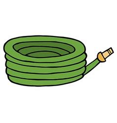 Cartoon hose vector image vector image