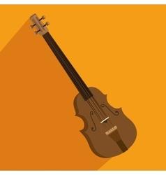 Chello instrument isolated icon vector