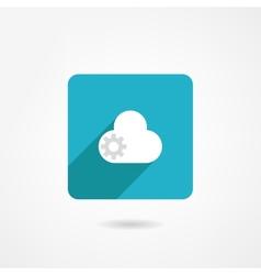 Cloud icon vector image vector image