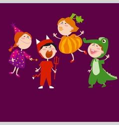 kids carnival vector image vector image