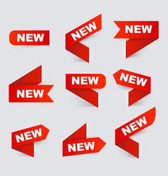 Sign new new signs isolated vector