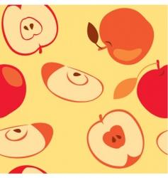 apple seamless vector image