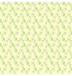 Mat symmetrical background with avocado vector