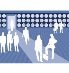 business scene vector image