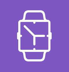 Clock app vector