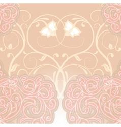 Delicate floral vector