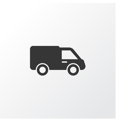 lorry icon symbol premium quality isolated truck vector image