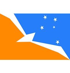 Tierra del Fuego vector image