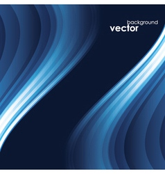 Abstract Light wave Background vector image vector image