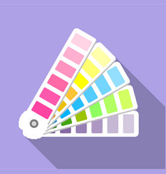 Cmyk picker icon flat style vector