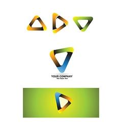 Company corporate business logo icon vector