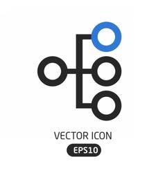 Heirarchy icon vector