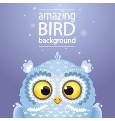 Owl cute vector