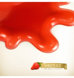 Sweet red background vector image vector image