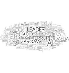Al qaeda in iraq announces new leader or do they vector