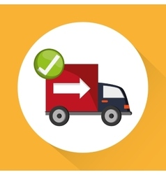 Delivery icon design vector