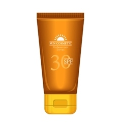 Sun Cosmetics Professional Series Suntan Cream vector image